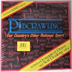 NEW SEALED 1996 PUB CRAWLING BOARD GAME