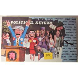 NEW SEALED 2000 POLITICAL ASYLUM BOARD GAME