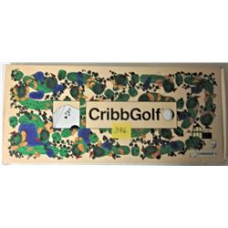1992 CRIBB GOLF BOARD GAME
