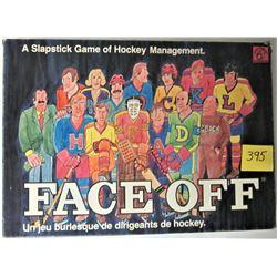1974 FACE-OFF SLAPSTICK HOCKEY BOARD GAME