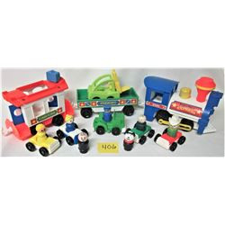 1986 FISHER PRICE 2581 EXPRESS TRAIN - ACCESSORIES