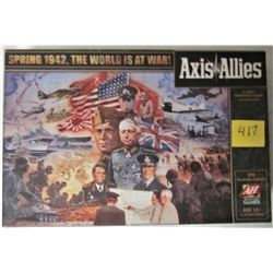 2009 AVALON HILL AXIS + ALLIES WWII BOARD GAME