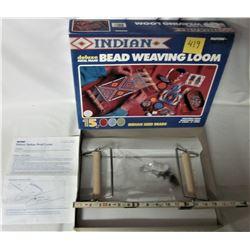 "1995 DELUXE METAL FRAME 15"" BEAD WEAVING LOOM - BOX + INSTRUCTIONS"