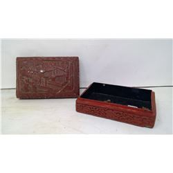 CINNEBAR TRINKET / STORAGE BOX
