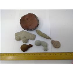 CONCRETIONS AND PETRIFIED MUD BALL