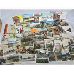 Large  Lot of vintage post cards