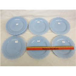 Lot of 10 Delphite Pyrex 9 and 1/4 inch plates no damage