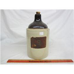 Niagara Falls Wine paper label- 1 gallon jug no damage