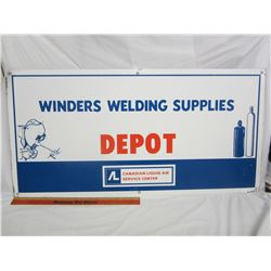 Winders Welding Supply sign 36 inches