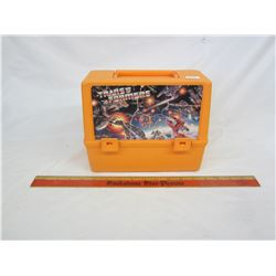 Transformer's lunch box no thermos