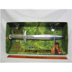 Lord of the Rings Light and Sound Sword with box