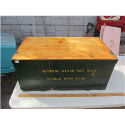 Vintage Military Trunk - Great Coffee Table