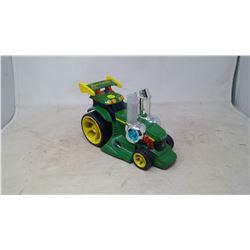 John Deere Race Tractor w/ Working Lights and Sound (ERTL)