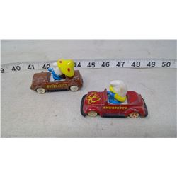 Smurf and Smurfette Toy Cars (1982)