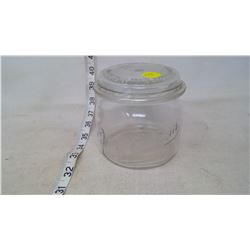 Sager Glass Vacuum Jar, Patented in Canada (1924)