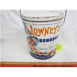 LOWNEY'S HARD CANDY TIN