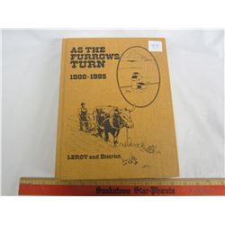 1986 LEROY & DISTRICT HISTORY BOOK