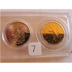 Uncirculated Canada Coin Set - 1992