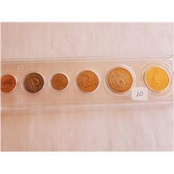 Uncirculated Canada Coin Set - 1996