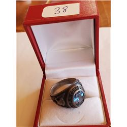 Vintage Sterling Silver P.A. Carlton High School Ring