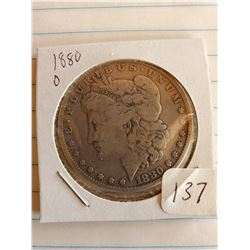 U.S. 1880O Morgan Silver Dollar - 90%