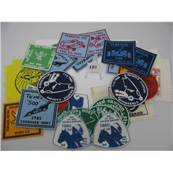YMCA - INDIAN GUIDE PATCHES - Large Lot of Patches