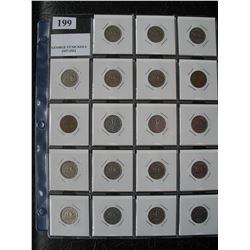 KING GEORGE VI NICKELS SET - 1937 to 1952  (19 Coins)