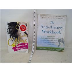 Jacquie Collins Book and Anti-Anxiety Workbook