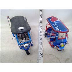 Two Pepsi Carts