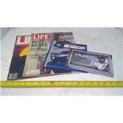Nascar and Life Magazine