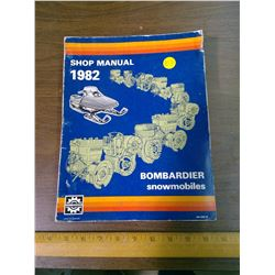 1982 BOMBARDIER SNOWMOBILE SHOP MANUAL