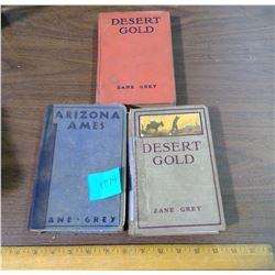 TWO DESERT GOLD BOOKS, ONE ARIZONA AMES