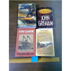 LOT OF FOUR BOOKS - THE IRON HORSE, THE RAINMAKER, ETC.