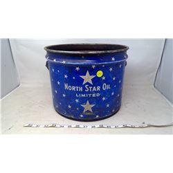 North Star Oil Limited Metal Bucket
