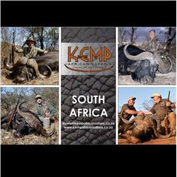 South Africa: 10 Day Plains Game Safari for 2 Hunters / Includes 1 Cape Buffalo and 1 Sable Bull