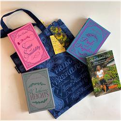 Tote Bag & Books