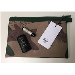 Herschel Supply Co Network Pouch and Salt & Stone Sun protection