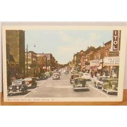 Main Street North Bay Ontario Canada Cinema Capital Now Playing Bob Hope Monsieur Beau ?