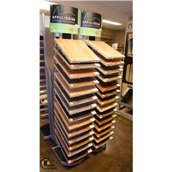 LOT OF 28 APPALACHIAN HARDWOOD FLOORING SAMPLES