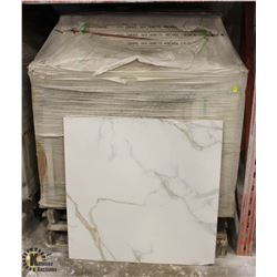 PALLET OF APPROX 30 CASES OF 3 PORCELAIN TILES