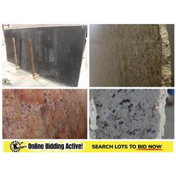 FEATURED ITEMS: LARGE SELECTION OF GRANITE SLABS