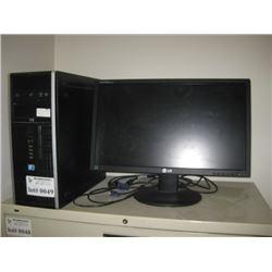 HP I5 COMPUTER / MONITOR