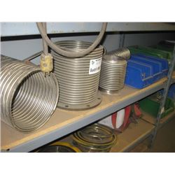 SHELF OF COILS AND SHIMS