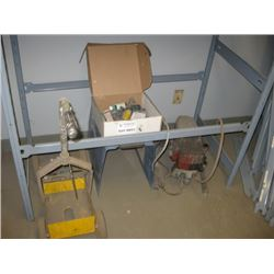 AIRLESS SPRAYER / PAINT CART AND MISC PARTS