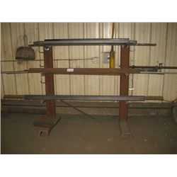 PIPE RACK AND MISC PIPE