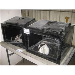 PAIR OF REFURB UNDERMOUNT TOOL BOXES