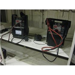PAIR OF BOOSTER PACKS TRUCK PAC ES1224 W/ CORDS