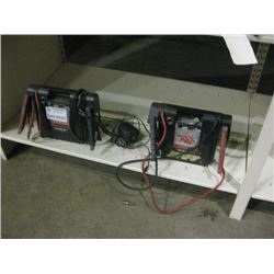 PAIR OF BOOSTER PACKS BOOSTER PAC ES5000 W. CORDS
