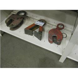 3PC METAL CLAMPS
