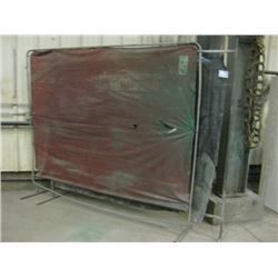 PAIR OF WELDING CURTAINS